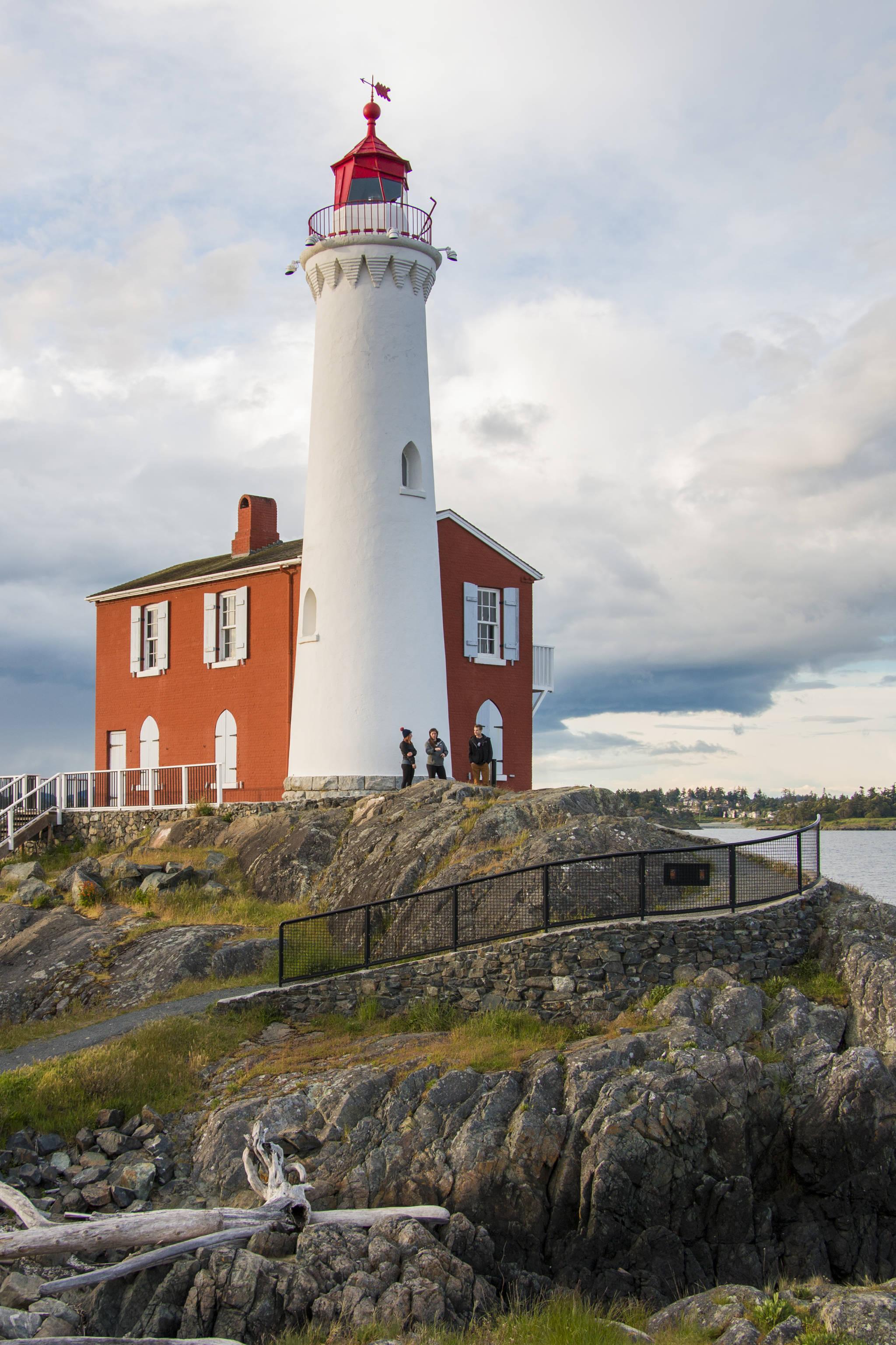 Fisgard Lighthouse celebrates its 160th birthday on Nov. 16. (Photo courtesy of Parks Canada)