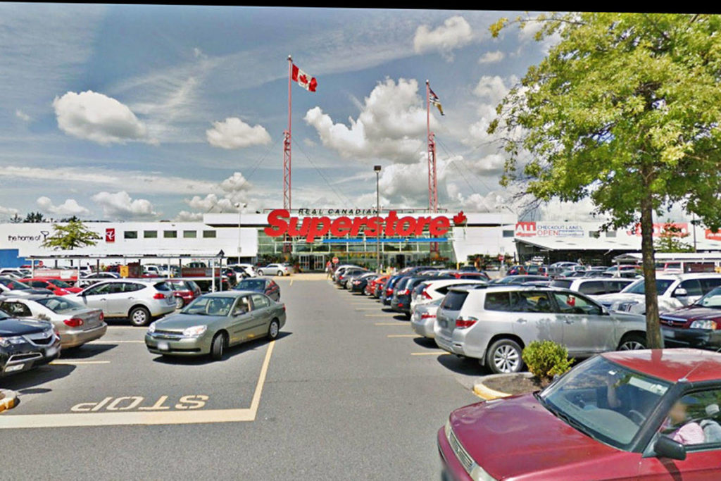 Loblaws has announced four staff have tested positive for coronavirus at the Real Canadian Superstore in Langley. (Google Maps)