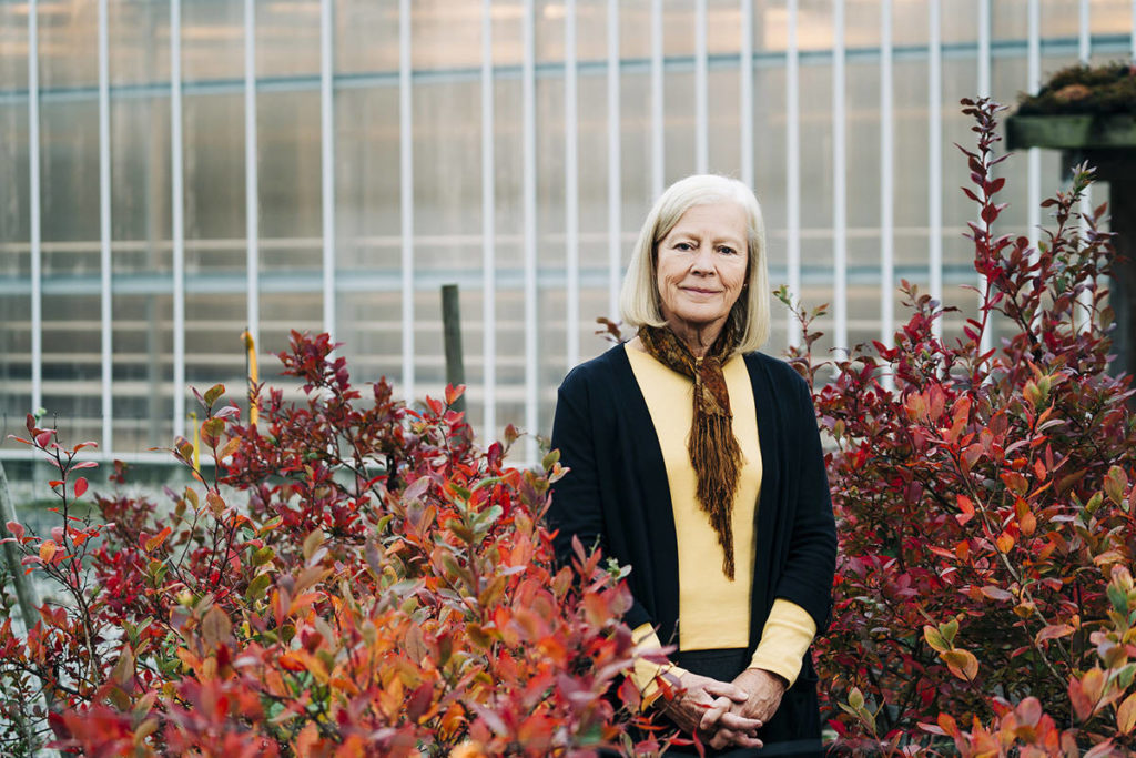 Dr. Deborah Henderson and her colleagues won a $100,000 prize for their work on an environmentally friendly pesticide. (Kwantlen Polytechnic University/Special to the Langley Advance Times)