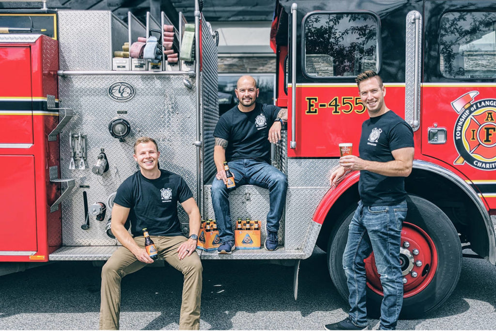 Frontline workers, including health care workers, law enforcement, firefighters, restaurant workers, grocery store workers and bus drivers can drop by and get a free six pack from Langley's Dead Frog Brewery on Saturday, Nov. 21. (photo courtesy Dead Frog Brewery)