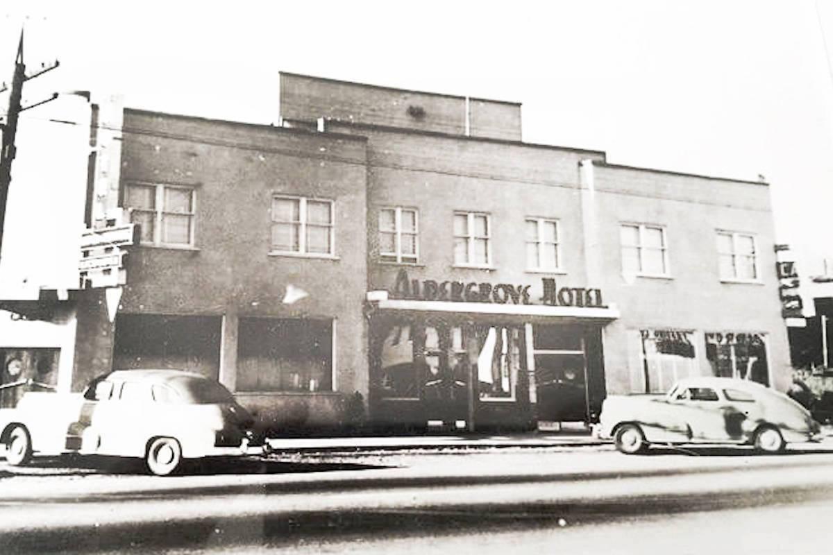 The Aldergrove Hotel circa 1950 (Alder Grove Heritage Society/Special to the Aldergrove Star)