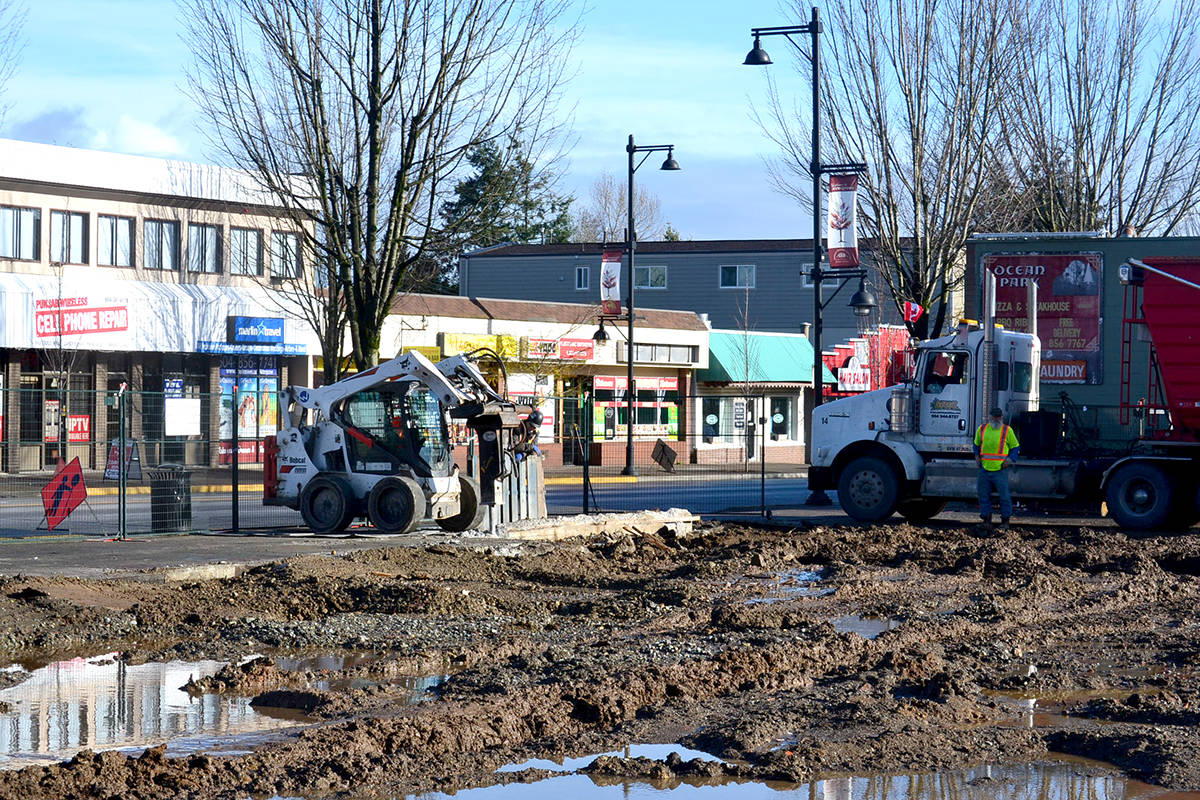 The Alder Inn structure has been completely cleared away. (Ryan Uytdewilligen/Aldergrove Star)