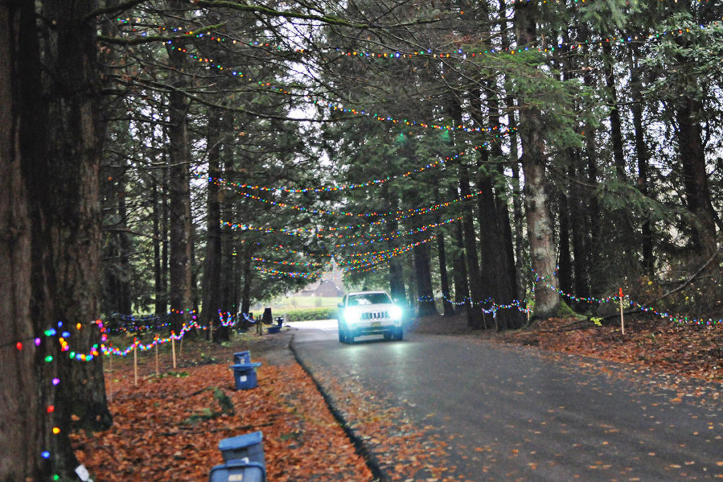 Williams Park marks 30th year of Christmas lights with COVID-19-friendly drive-thru display. (Black Press Media files)