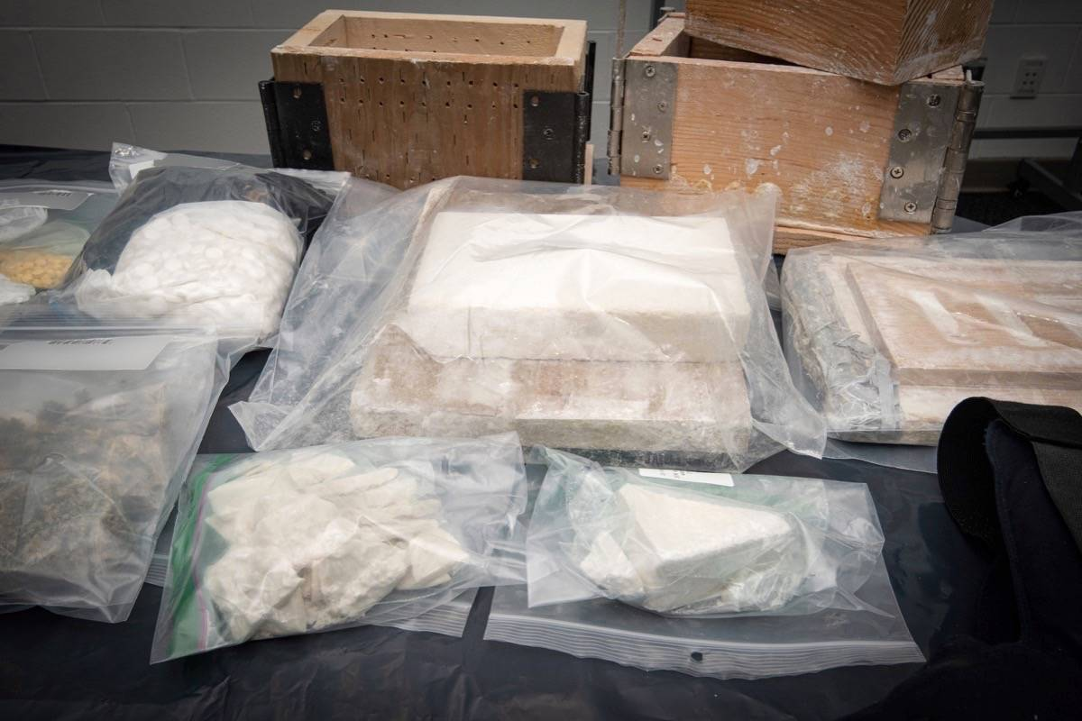 "More than a dozen people have been arrested after police shut down an $18-million ""dial-a-dope"" operation in Delta and Richmond. (Delta Police Department photo)"