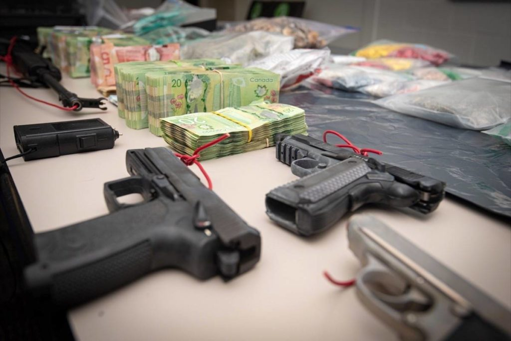 """More than a dozen people have been arrested after police shut down an $18-million """"dial-a-dope"""" operation in Delta and Richmond. (Delta Police Department photo)"""