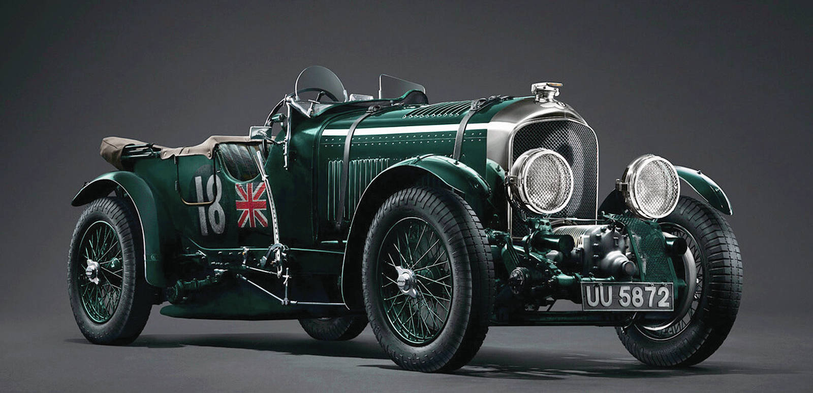 """Bentley is producing 12 more 1929 Blower cars in a """"Continuation Series."""" PHOTO: BENTLEY"""
