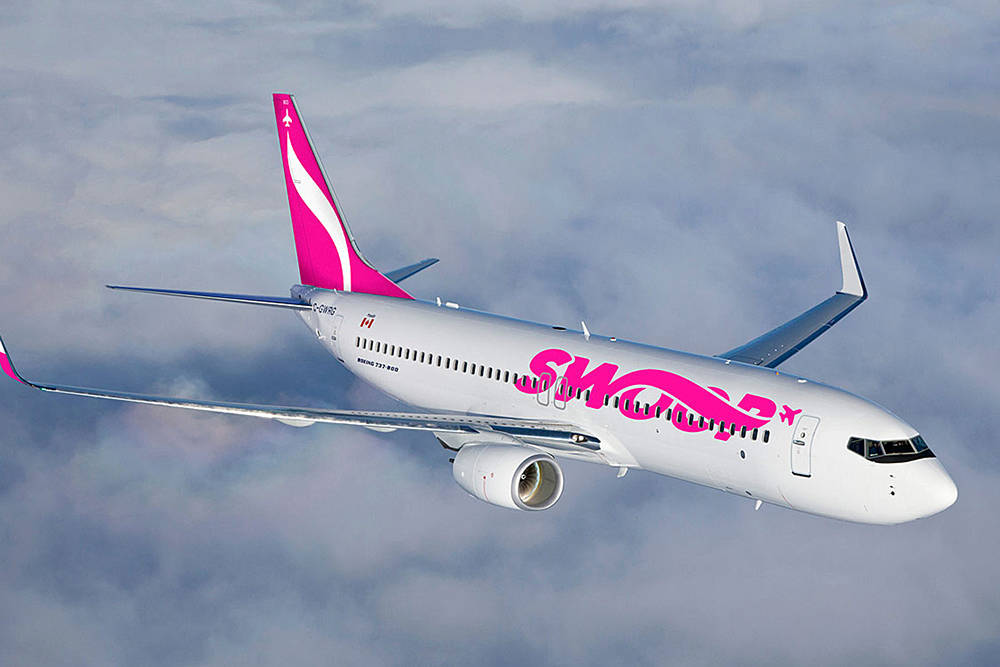 Swoop Airlines. (Contributed)