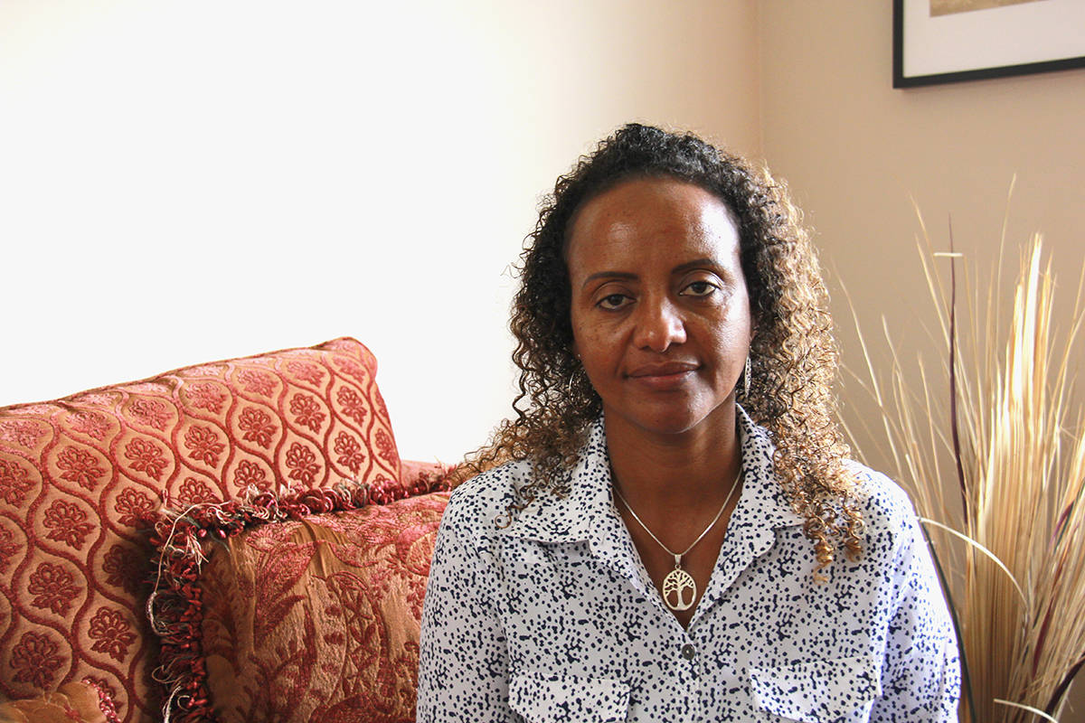 Selam Woldu is trying to draw attention to the conflict raging in Ethiopia, where many of her family members live. (Jane Skrypnek/News Staff)