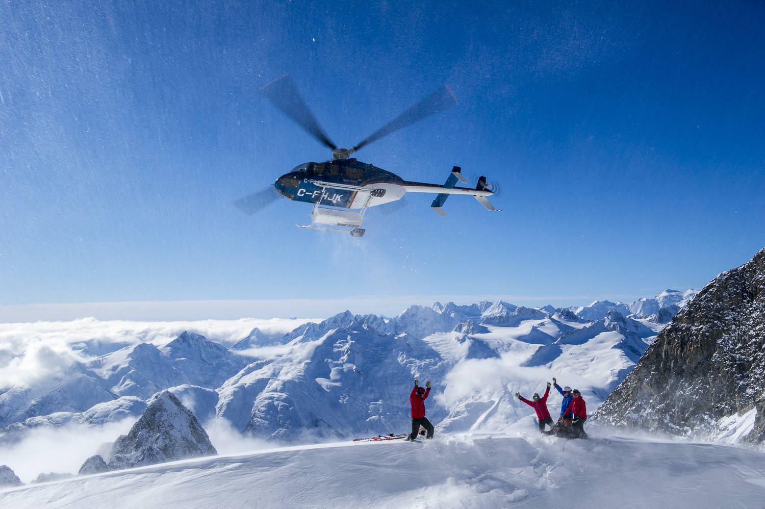 The World Ski Awards' title of World's Best Heli-Ski Operator went to Bella Coola Heli Sports – the fourth annual honour for the company. Photo courtesy of Bella Coola Heli Sports.
