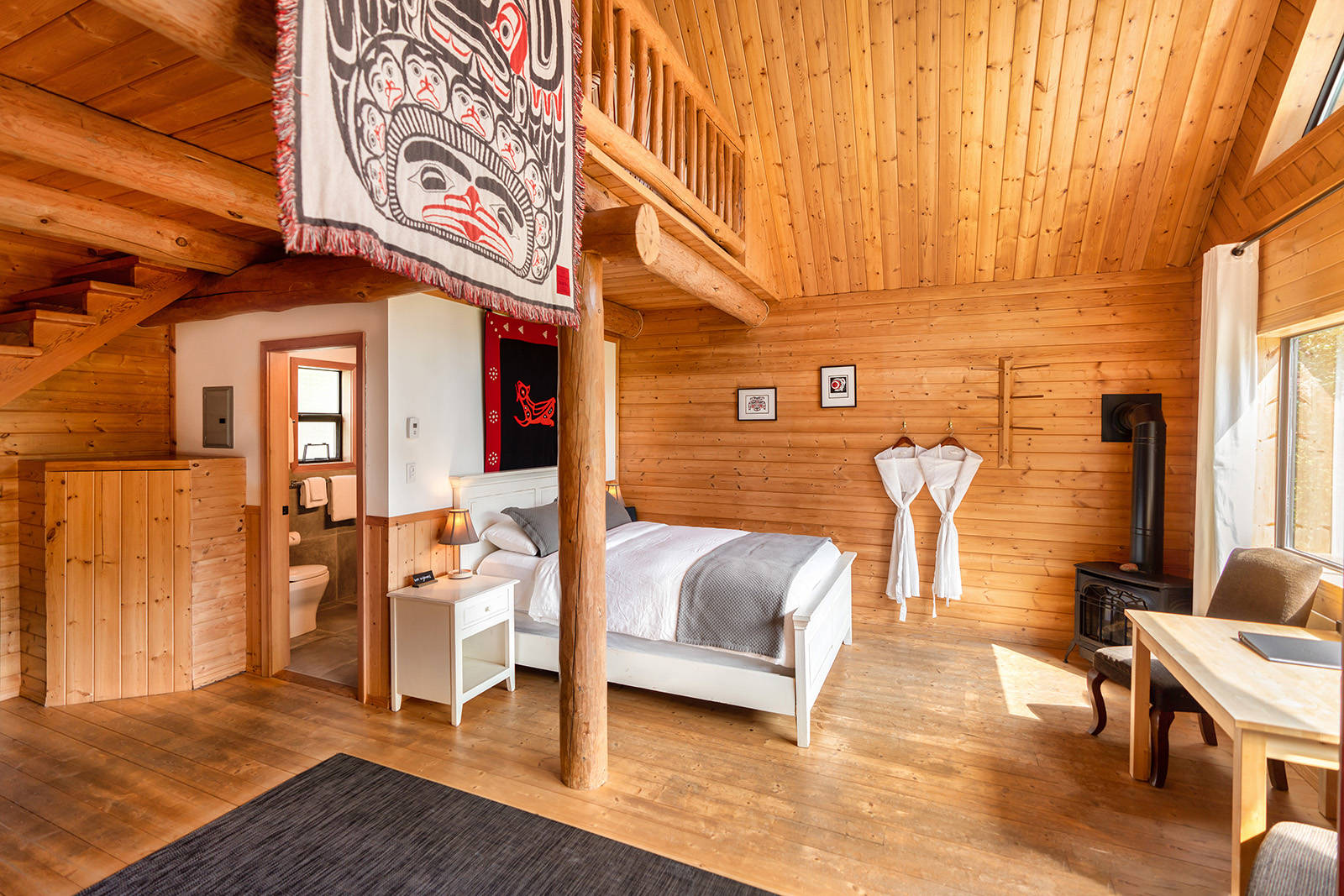 Bella Coola Heli Sports' Tweedsmuir Park Lodge. In addition to more than 13,150 square kilometres of pristine wilderness, guests can choose from five wilderness lodges in the company's portfolio. Photo courtesy of Bella Coola Heli Sports.