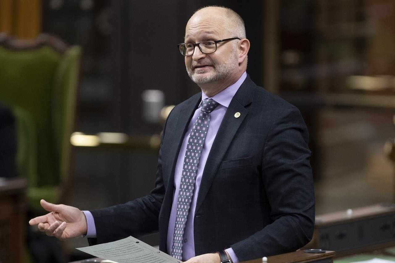 Justice Minister David Lametti responds to a question during Question Period in the House of Commons, in Ottawa, Thursday, Nov. 19, 2020. The federal bill revising the rules on medically assisted death in Canada has raised the ire of the Canadian Psychiatric Association over the proposed law's explicit rejection of mental illness as grounds for ending a patient's life. THE CANADIAN PRESS/Adrian Wyld