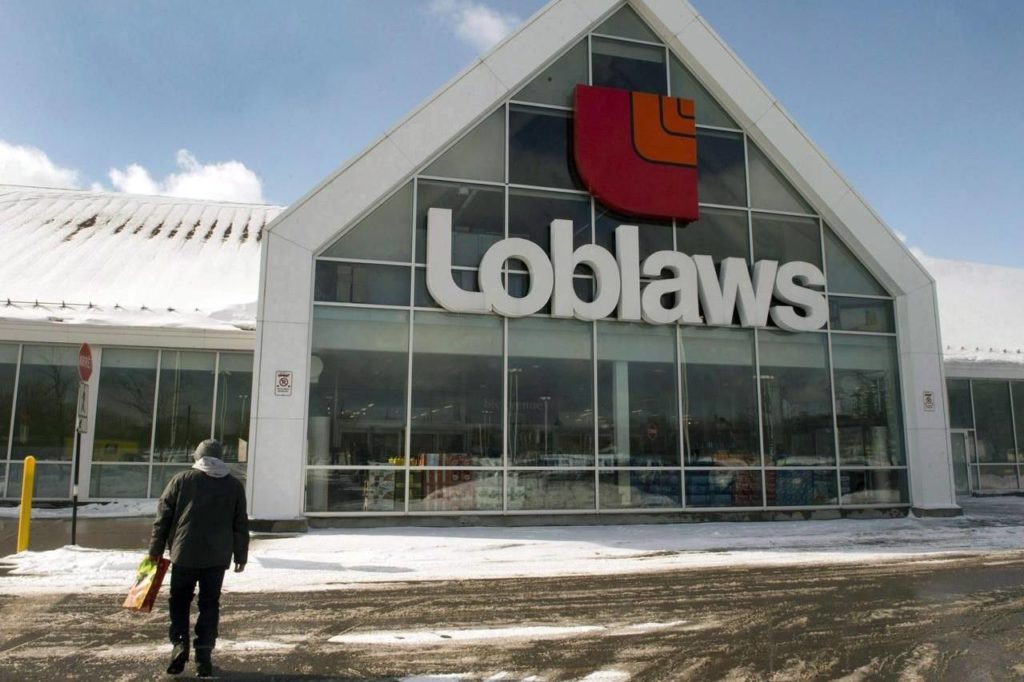 A Loblaws store is seen Monday, March 9, 2015 in Montreal.Loblaw Companies Ltd. is expanding the launch of its mobile health and wellness app, a digital tool the company says will provide free access to health-care resources and support. THE CANADIAN PRESS/Ryan Remiorz
