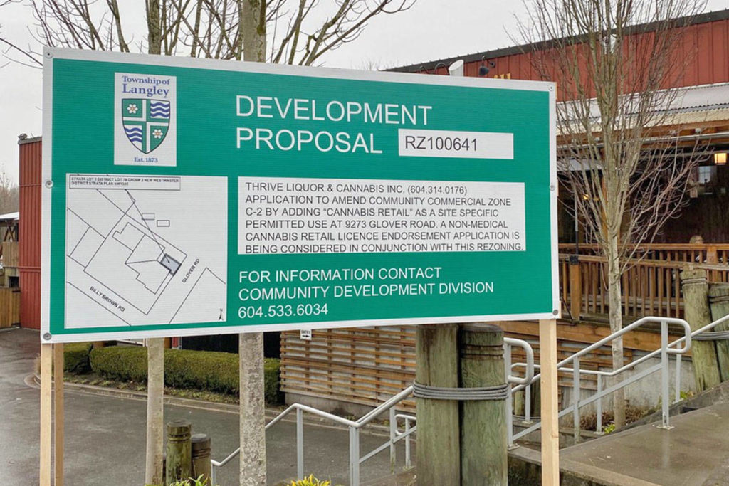Gayle Hallgren is concerned about how a proposed cannabis shop will change Fort Langley. (Hallgren photo)