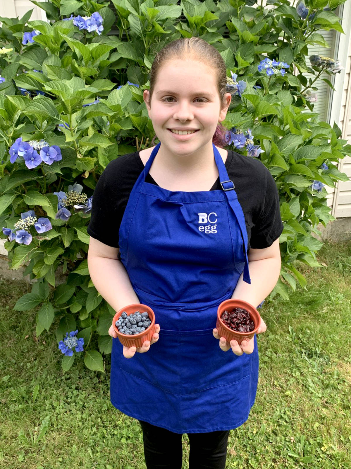 Langley 4-H senior member, Mac was a Field to Fork winner. (4-H BC/Special to the Aldergrove Star)