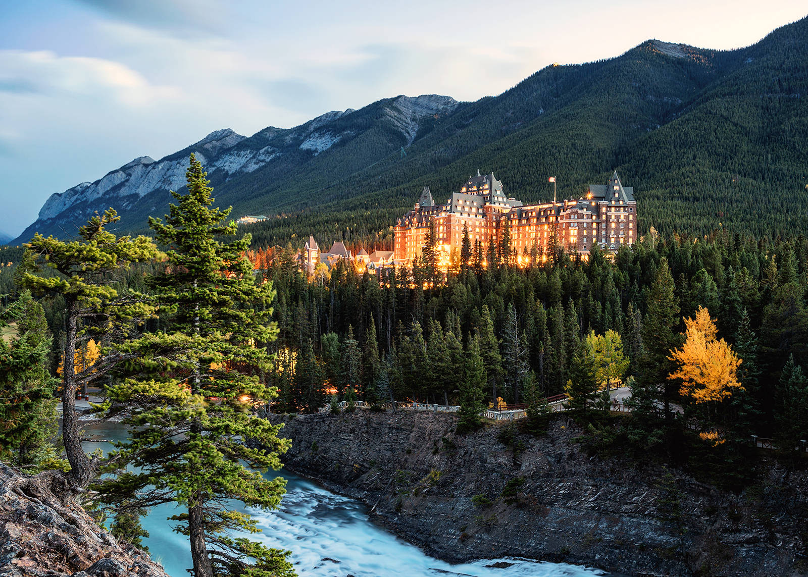 Built in 1888, the Fairmont Banff Springs Hotel, in Banff National Park, has a long and storied history.