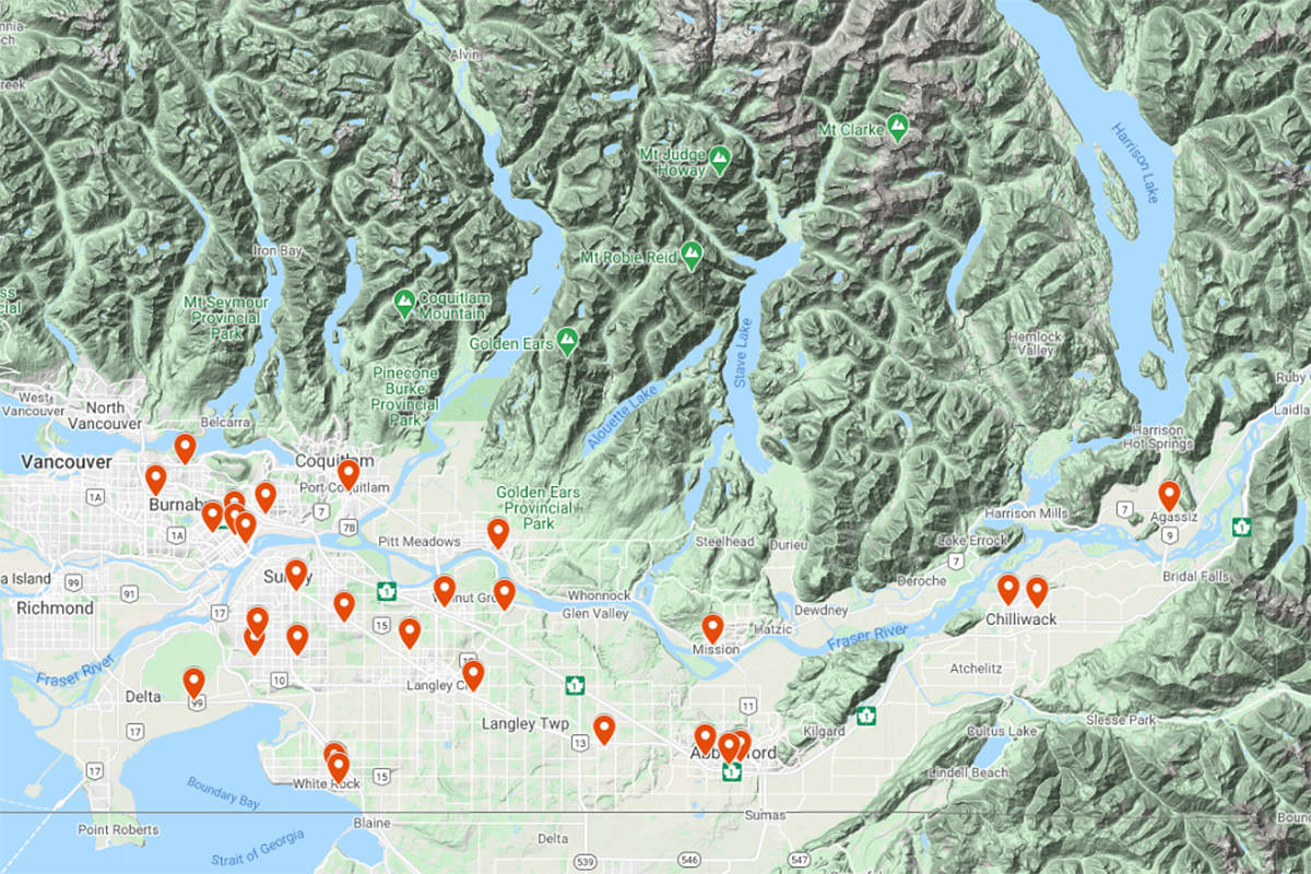 There are 32 active outbreaks in seniors' homes in the Fraser Health region.