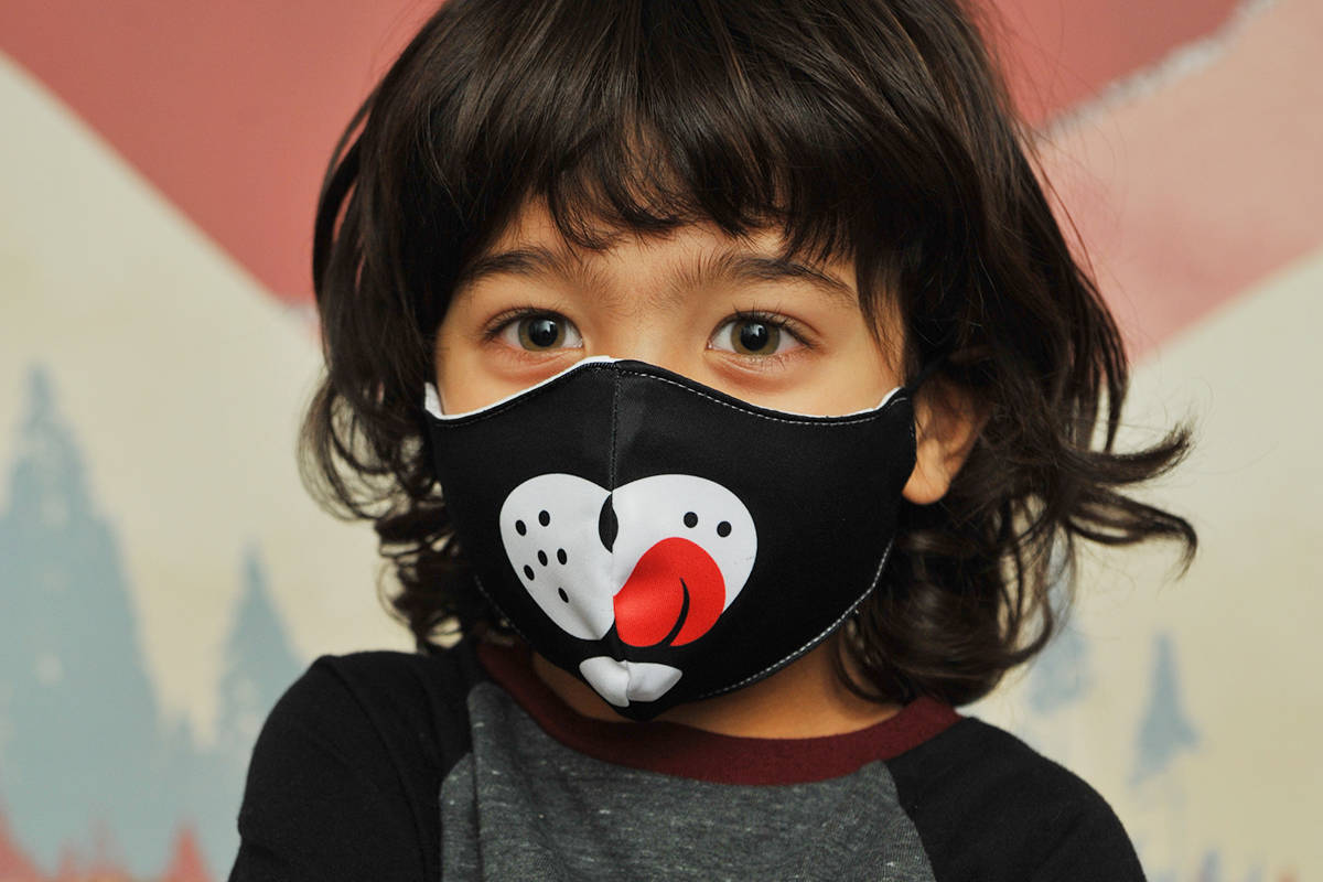 Designed and manufactured right here in B.C., masks are available in packs of three, with options for kids, youth and adults.