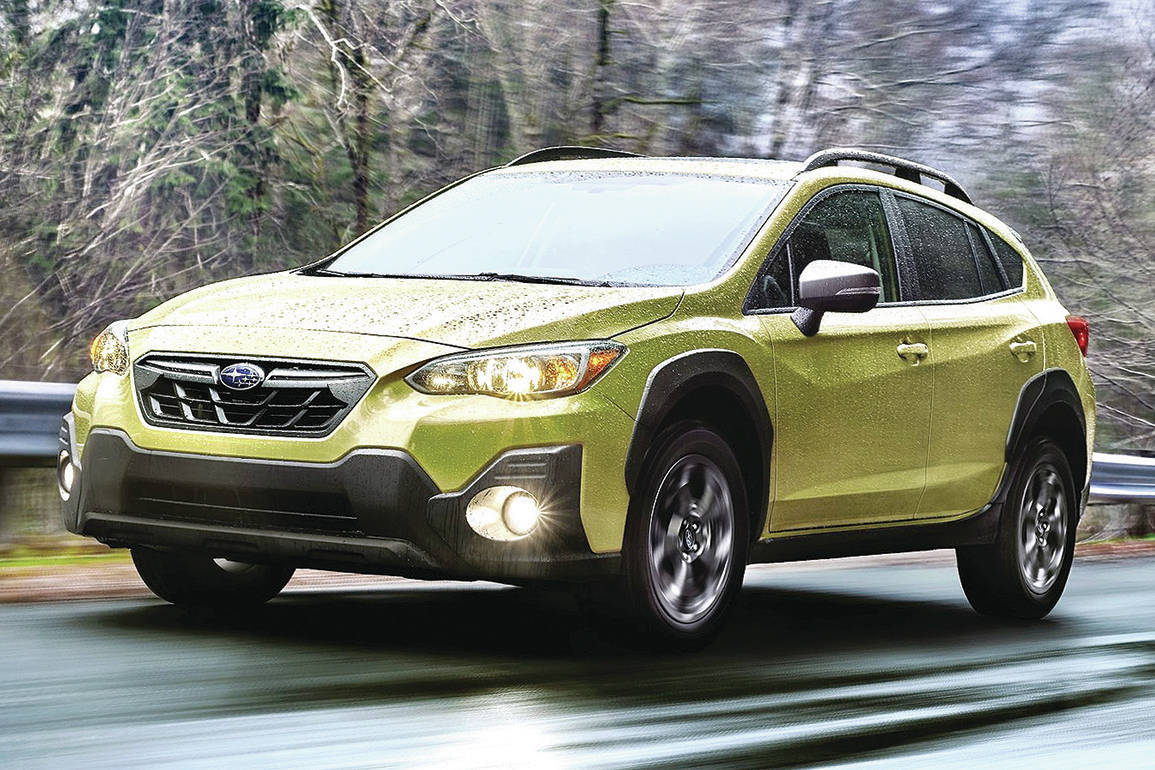 There's a makeover for the Crosstrek, yes, but also a newly optional 2.5-litre four-cylinder engine. PHOTO: SUBARU