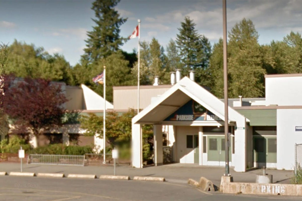 Parkside Centennial Elementary in Langley had an individual with COVID-19 at the school on Nov. 19, 2020, according to Fraser Health. (Google)