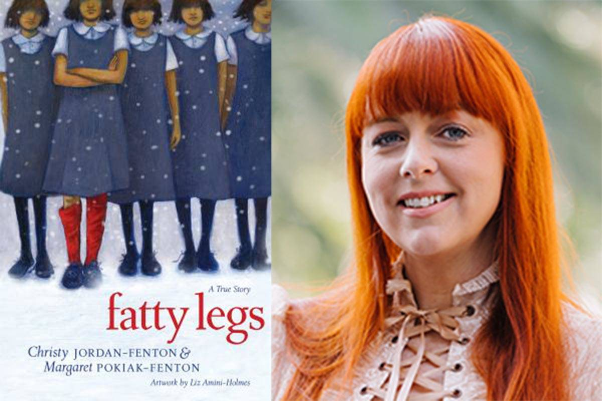 Christy Jordan-Fenton is the co-author of the book Fatty Legs, which has been mentioned amid the controversy of an Abbotsford school assignment on residential schools.