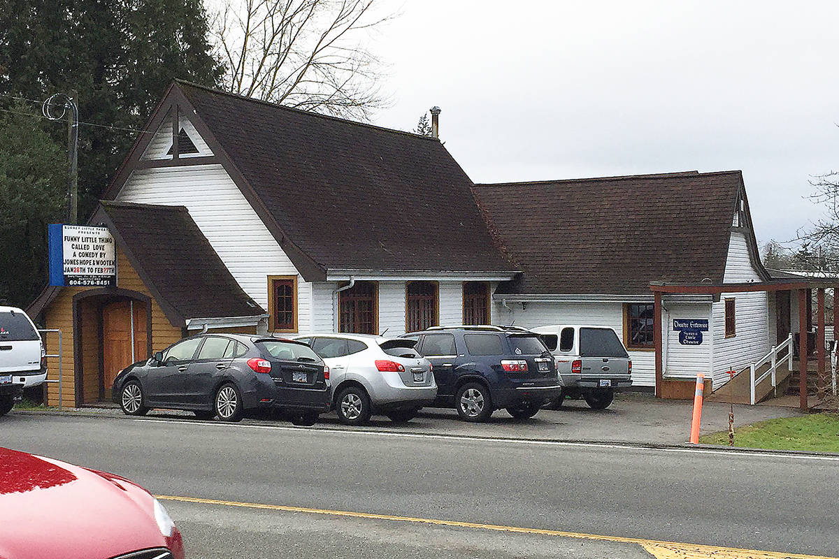 Surrey Little Theatre is located on 184th Street at Fraser Highway. (File photo: Tom Zillich)