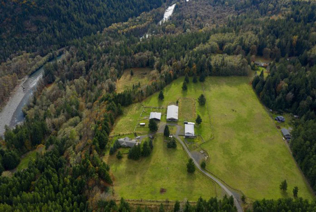 BIG SALMON ranch in Washington State. (Center for Whale Research handout)