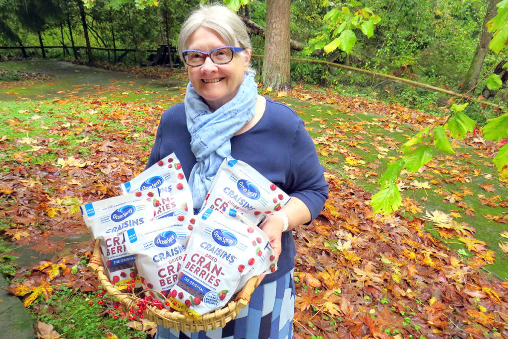 Langley's Maryalice Wood, 71, won Cranberries BC Culinary Contest in October 2020 for her cranberry walnut cheese ball recipe. (Coreen Rodger Berrisford/Special to Langley Advance Times)