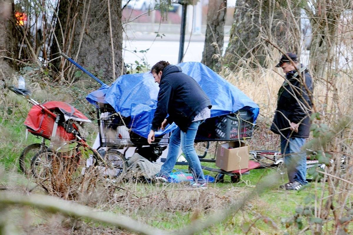 Bad weather this year could catch Langley's homeless without enough shelter space due to COVID-19 concerns. (Langley Advance Times files)