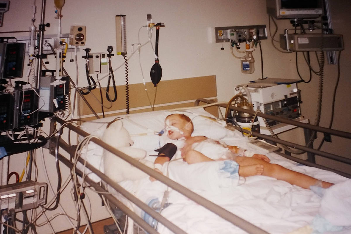As a young child, Joe Fast was hospitalized for six months after he developed an E. coli infection that left him with permanent kidney damage.