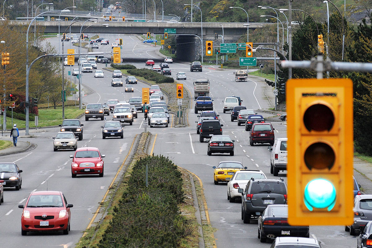 Victoria-based driving instructors are concerned for their own and the community's safety with the continued number of residents from COVID hotspots in the Lower Mainland coming to the city to take their driving road tests. (Black Press Media file photo)