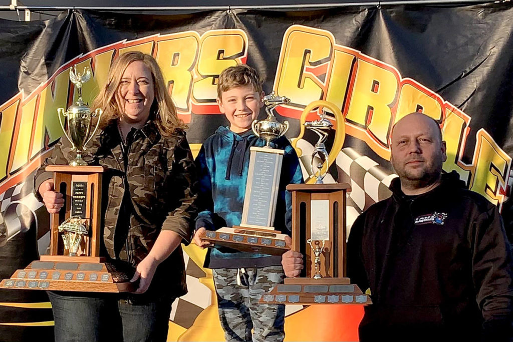 "Cory McLeod earned an ""Intermediate Driver of the Year"" award with Langley Quarter Midgets. (Nadine Scott/Special to the Aldergrove Star)"