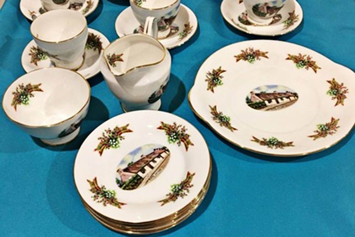 Vintage bone china, crystal, champagne and more are up for bid in the CARES cat shelter Holiday Auction. Bidding closes Sunday, Dec. 13. (CARES)
