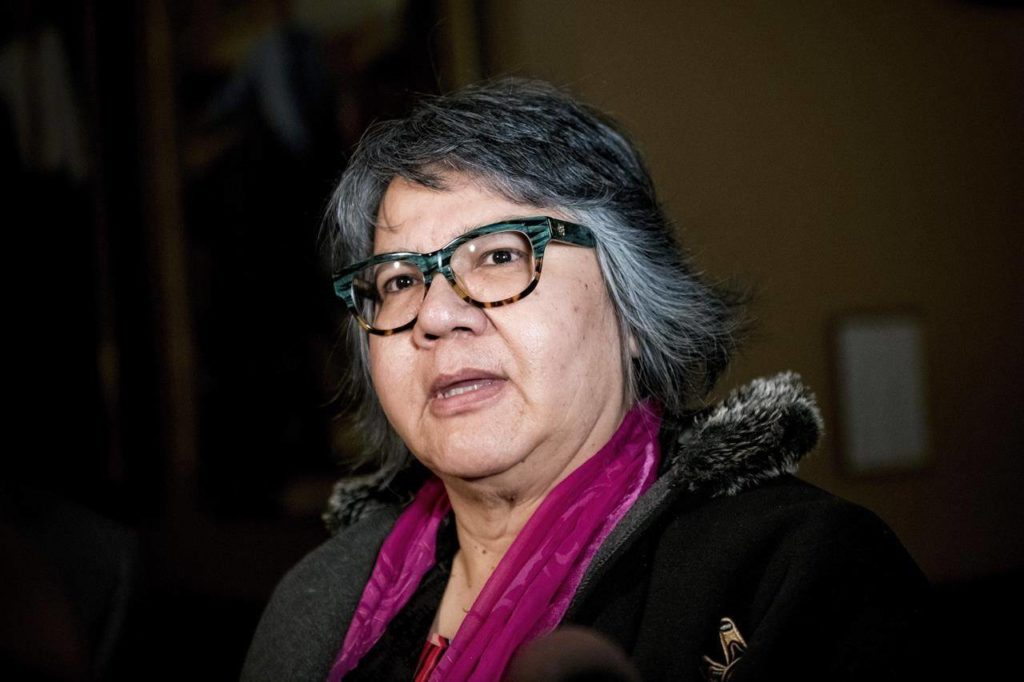 Ontario Regional Chief RoseAnne Archibald is shown at Queen's Park in Toronto on Tuesday, June 4, 2019. The Assembly of First Nations is planning to urge the federal Liberal government to do more to deal with the disproportionate impact the COVID-19 pandemic is having on their communities in a virtual version of its annual general assembly. THE CANADIAN PRESS/Christopher Katsarov