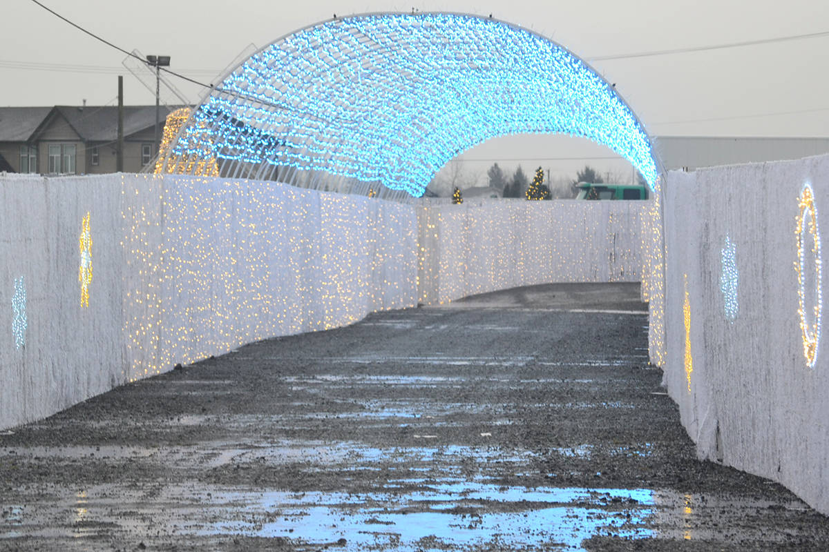 Glow Gardens opens on Tuesday, Dec. 8, after Dr. Bonnie Henry announces that drive-thru events can go ahead. (Ryan Uytdewilligen/Aldergrove Star)