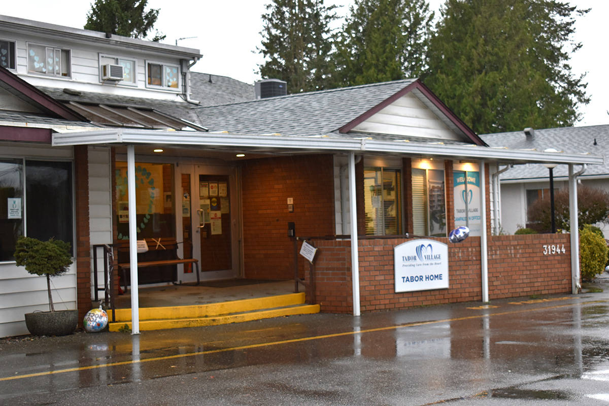 Tabor Home in Abbotsford is the site of B.C.'s largest COVID-19 outbreak at a long-term care facility. (Ben Lypka/Abbotsford News)