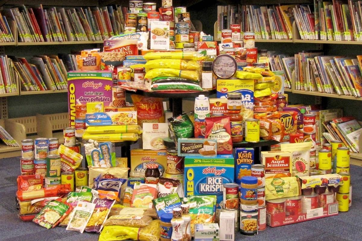 Fraser Valley Regional Library patrons can pay their fines with non-perishable food items Dec. 9 through Jan. 13. (Submitted photo)