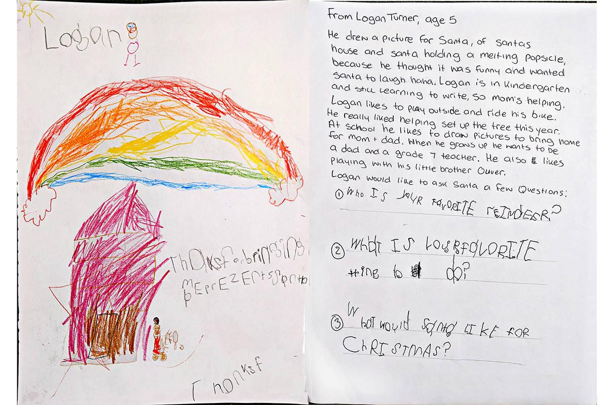 Logan Turner, kindergarten, Parkside Elementary
