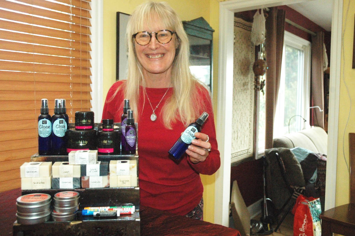 Robin Round, owner of the Valley's Botanical Bliss Products, said the province's decision to bar vendors selling non-food products from outdoor markets as a safety precaution during the COVID-19 pandemic is crushing her business, and others as well. (Robert Barron/Citizen)