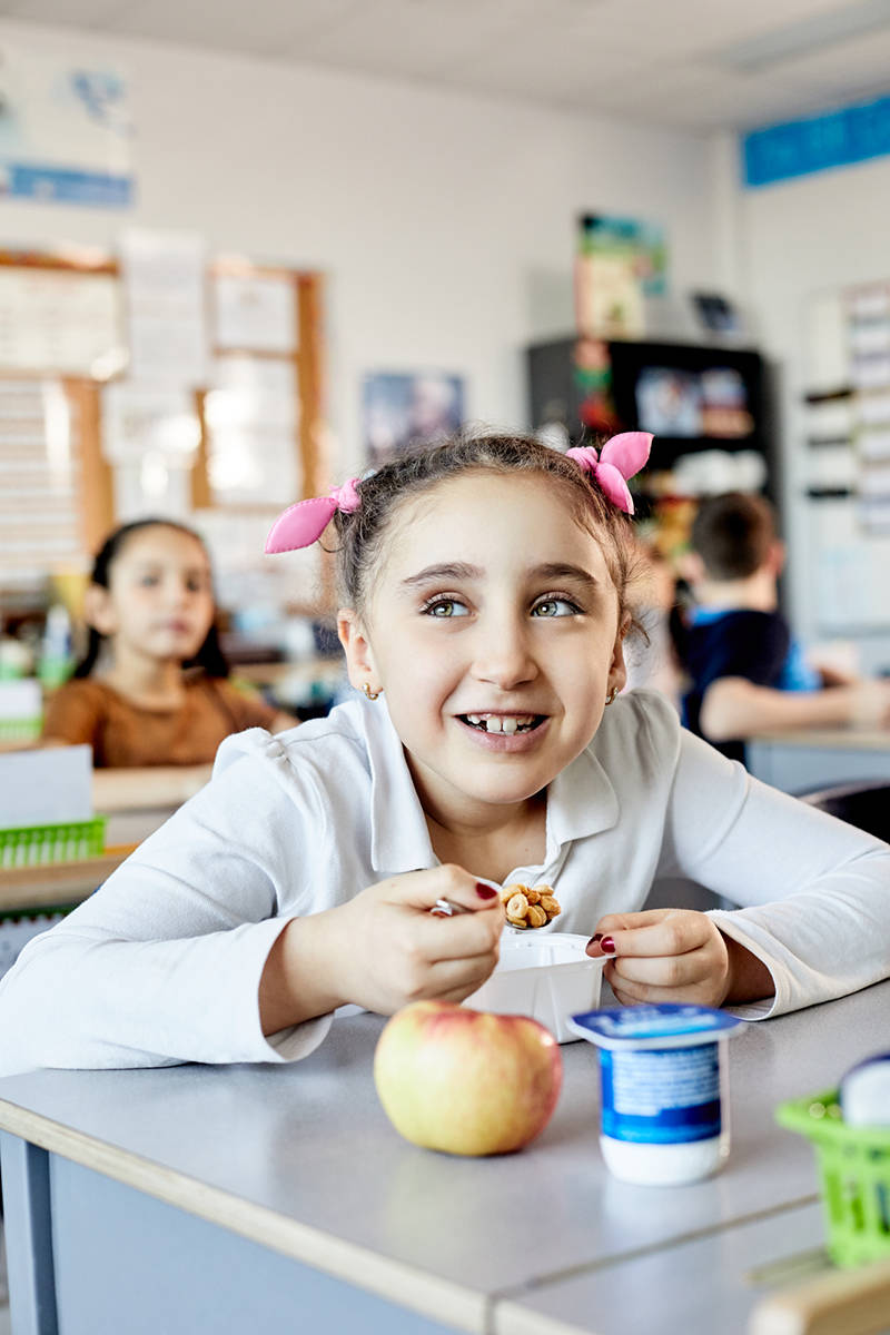 The Breakfast Club of Canada provides healthy breakfasts to children across Canada. This year, when you grab a healthy breakfast at a participating restaurant, the BC Dairy Association will make a donation to the Breakfast Club of Canada! (Photo: Benedicte Brocard)