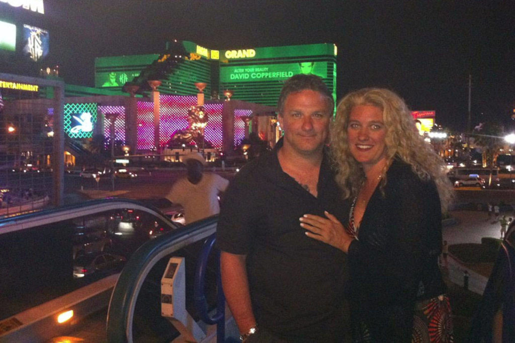 Lindsey (left) and Angela Gauthier in an undated photo taken in Las Vegas. Lindsey died after an interaction with police in Chilliwack in April 2016. On Dec. 11, 2020 the BC Coroner Service announced a public inquest into Lindsey's death. (File)