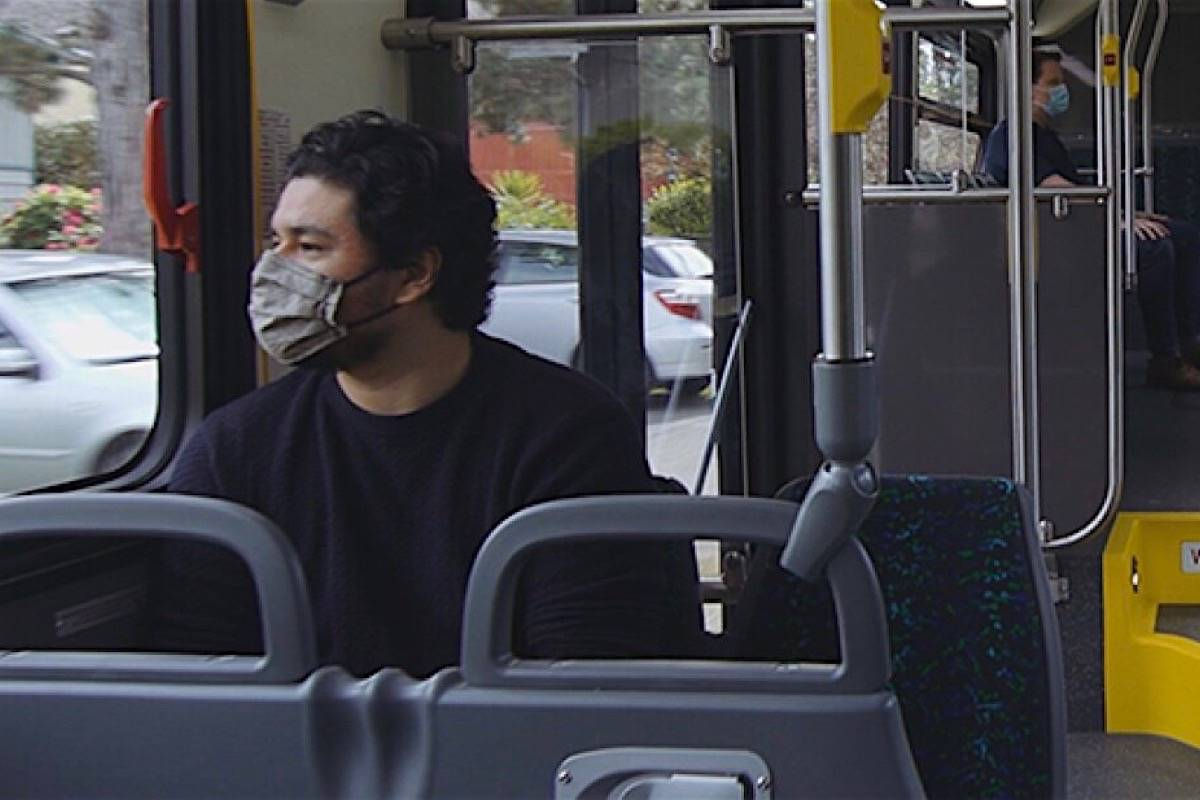 B.C. transit buses are among public areas where mask use is required. (B.C. government)