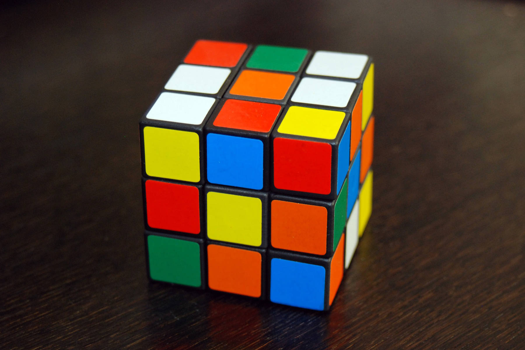 Do you know how many colours, excluding the black trim, are on a standard Rubik's Cube? (Pixabay.com)