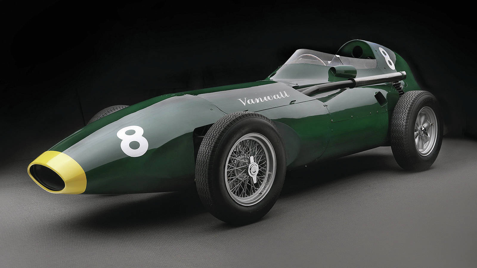A British company will replicate six Vanwall Formula One cars from the 1950s. PHOTO: VANWALL