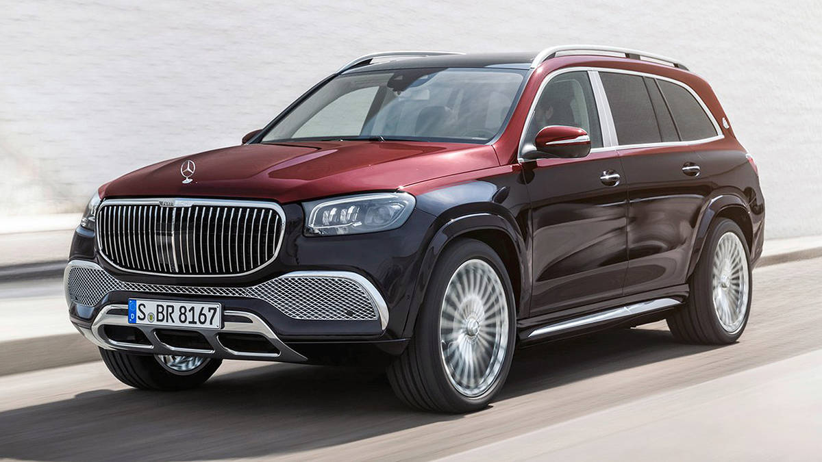 The Maybach GLS600 4Matic is based on the Mercedes-Benz GLS utility vehicle. PHOTO: MERCEDES-BENZ