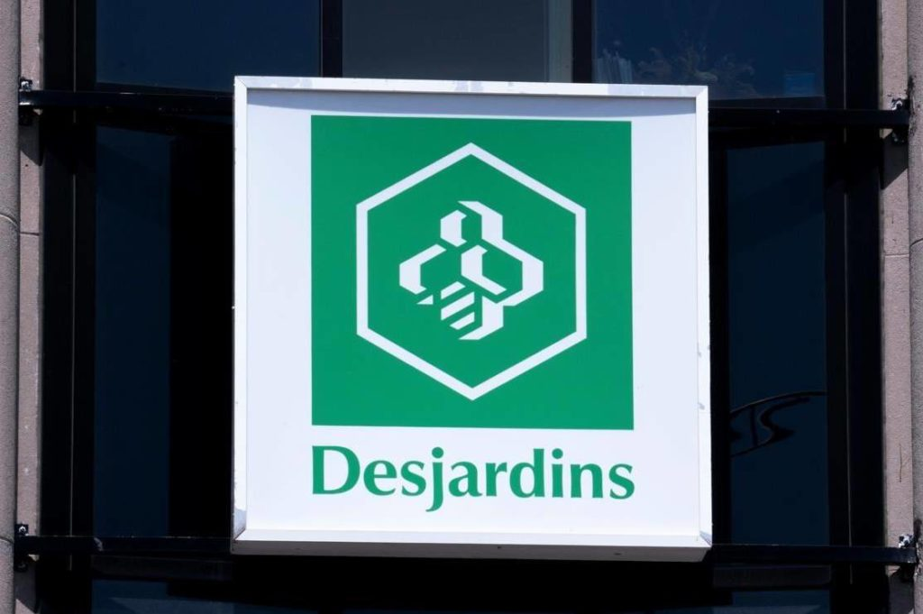 A Caisse populaire Desjardins sign is seen in Montreal on Tuesday, June 18, 2019. The federal privacy watchdog says a series of technological and administrative gaps caused a high-profile data breach at Desjardins — the largest in the Canadian financial services sector. THE CANADIAN PRESS/Paul Chiasson