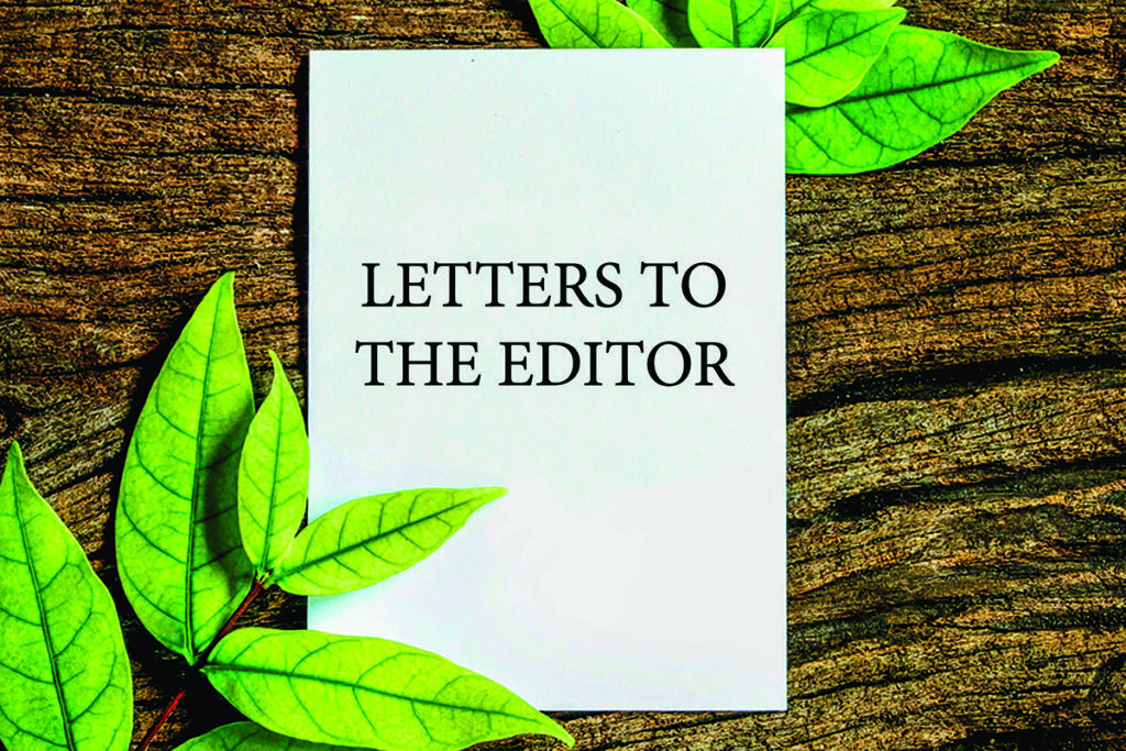 Submit letters to the editor through our website, via email or in writing.