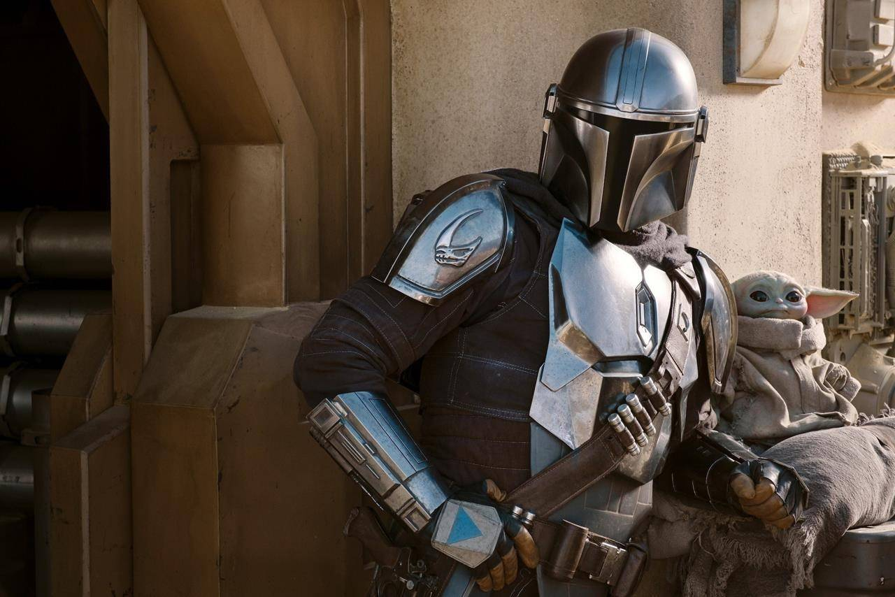 A scene from The Mandalorian. (Francois Duhamel /Lucasfilm Ltd.)