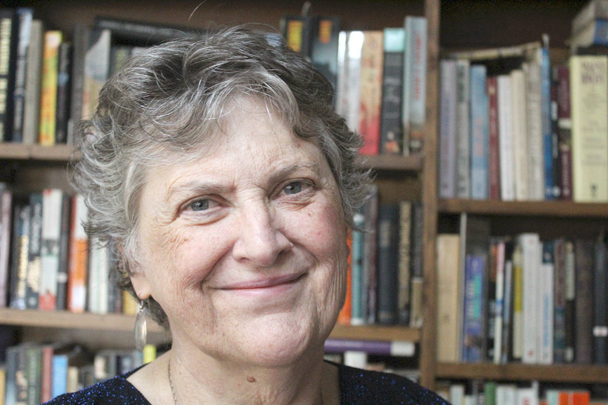 Margaret Cadwaladr lives in Langley and wrote a book about the two periods in her life when she worked at the Vancouver Woodward's Food Floor. (Margaret Cadwaladr)