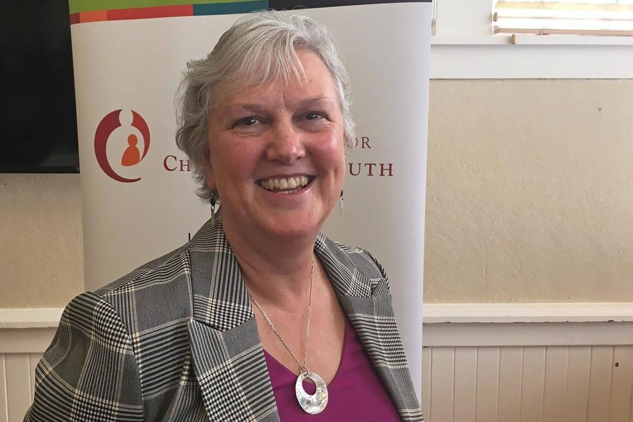 Jennifer Charlesworth, British Columbia's representative for children and youth, is seen in Victoria on December 10, 2018. In its latest report, Charlesworth's office is once again calling on the province to improve its support system for youth transitioning out of government care after they turn 19 years old. THE CANADIAN PRESS/Dirk Meissner