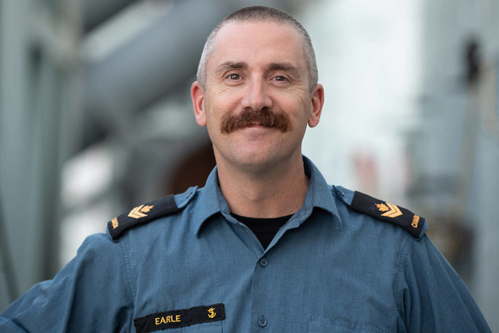 The search for Master Sailor Duane Earle, from Winnipeg, has concluded. The Boatswain, described as a 'sailor's sailor' was not found. (Courtesy Canadian Armed Forces)